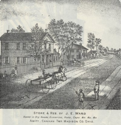 Store and Residence of J. E. Ward